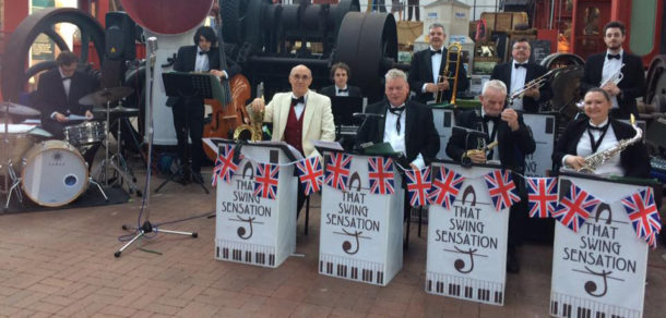 Swing Sensation at our Style at Sea Event
